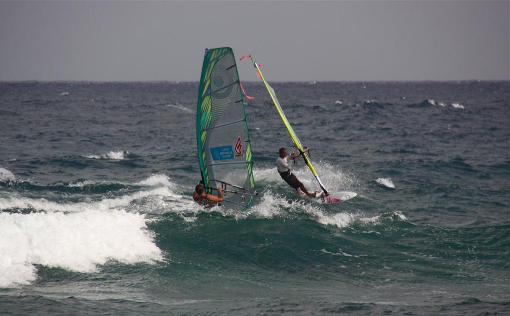 Lanzarote Las Cucharas windsurfing kitesurfing