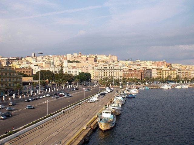 Sardynia - Cagliari - zdjęcia, atrakcje