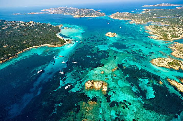Sardynia - Park Narodowy La Maddalena - zdjęcia, atrakcje