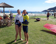 Ladies on windsurf board - VASSILIKI na LEFKADZIE 2021