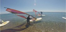 Bodrum Turcja Spot Windsurfingowy Akyarlar - Bodrum Windsurfing Spot in Akyarlar Movie Turkey